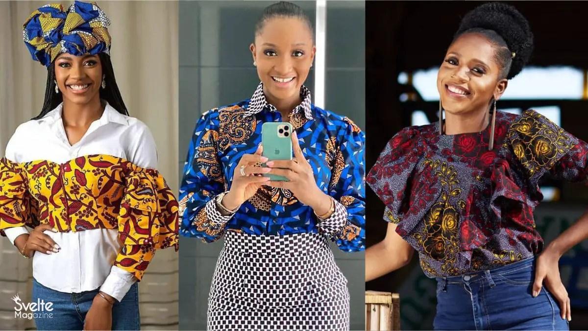 Latest Ankara Tops Styles Every Lady Should Wear