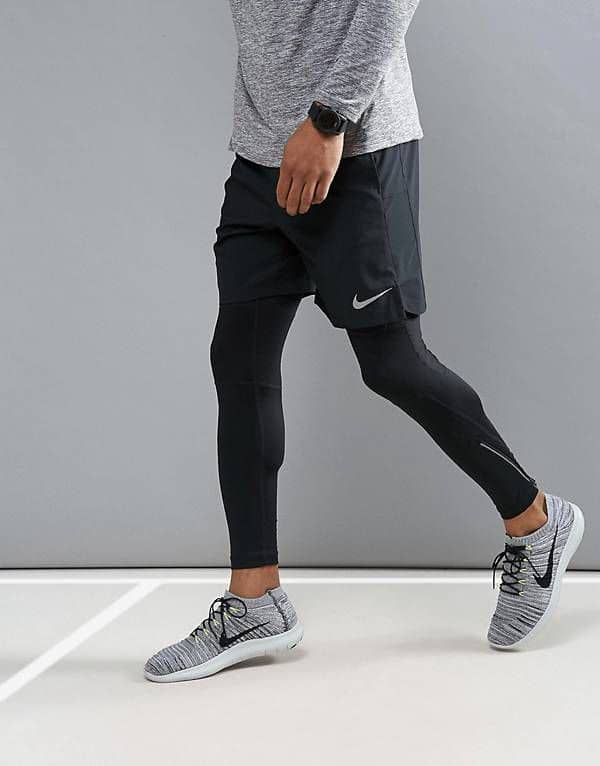 man in active wear for gym
