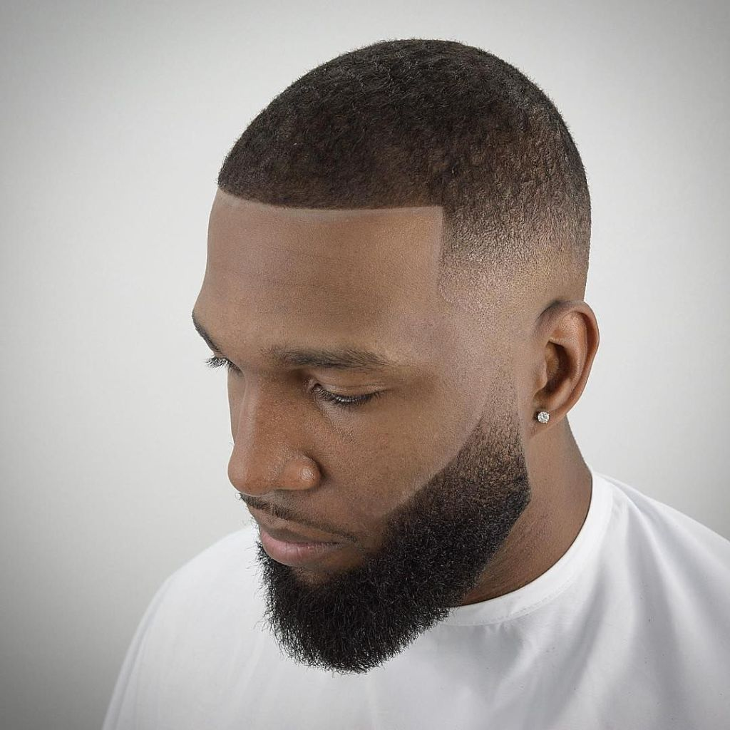 low cut hairstyle for black man