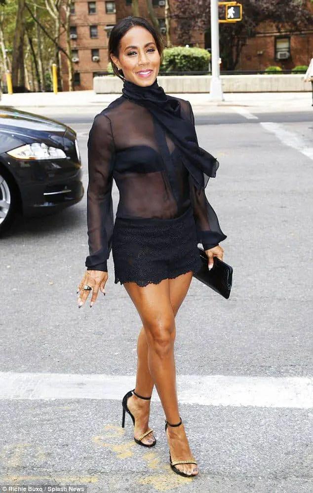 lady in short black dress wearing heels