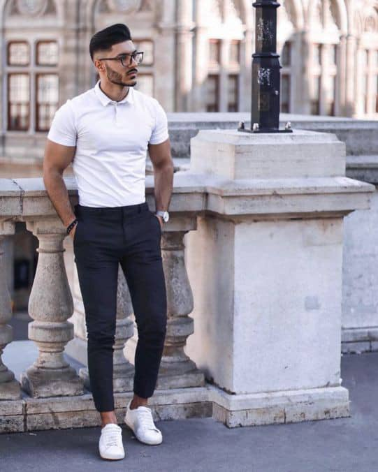 man dressed in a smart casual