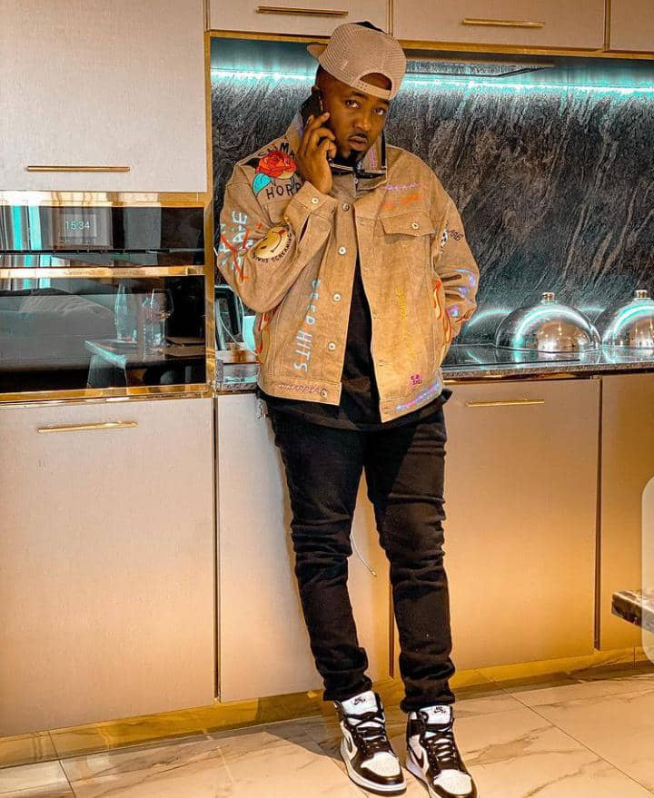 Ice Prince in streetwear outfit