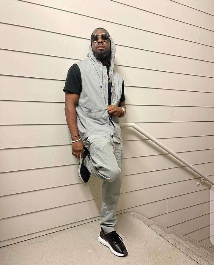 Timaya showing off his style