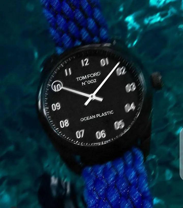 a wristwatch by Tom Ford