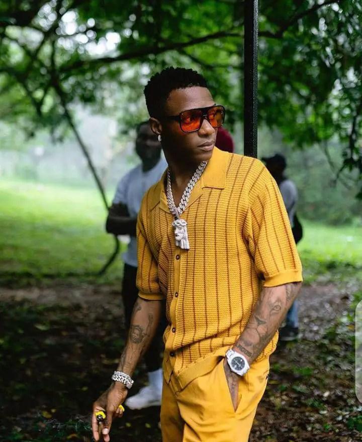 Wizkid's style of dressing