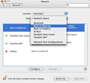 Mac OS X: Show