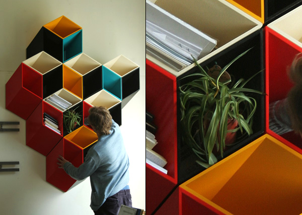 Bookshelf-Two-and-half-dimension