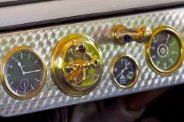 Armaturenbrett eines Oldtimers ADAC Niedersachsen Classic 2012
