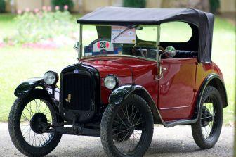 Rotes DIXI Cabriolet - ADAC Niedersachsen Classic 2012