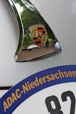Porsche 356 Front mit Emblem