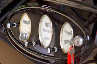 Oldtimer Armaturenbrett auf der ADAC Niedersachsen Classic 2012