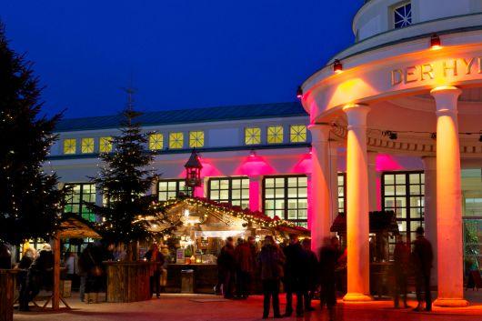 Bad Pyrmont Hylligen Born Wandelhalle Weihnachtsmarkt 2012