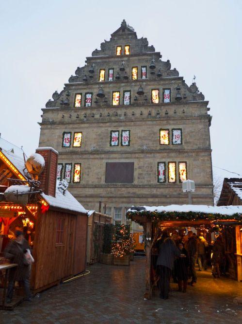 Hameln Weihnachtsmarkt Hochzeitshaus 2012