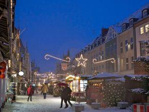 Hameln Weihnachtsmarkt Bäckerstraße 2012