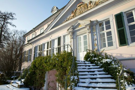 Bad Pyrmont Schloss im Winter 2013