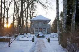 Bad Pyrmont Kurpark im Winter 2013