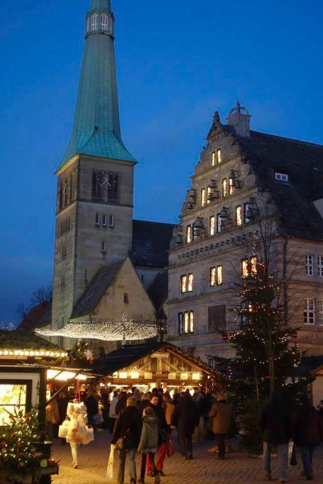 Hameln Weihnachtsmarkt Hochzeitshaus Marktkirche St. Nicolai 2013