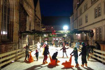 Hameln Weihnachtsmarkt Eisbahn 2013