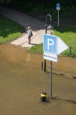 Minden Weser Hochwasser 2013