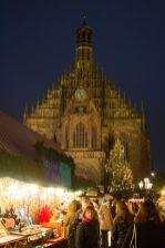 Nürnberg Frauenkirche Christkindlesmarkt 2014