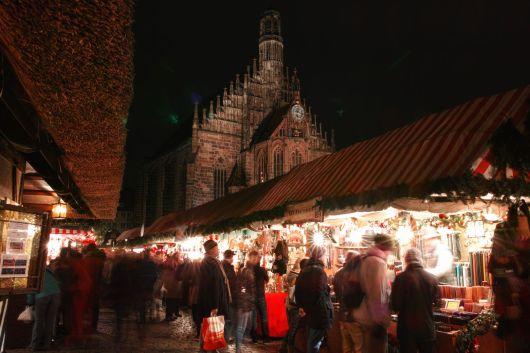 Nürnberg Christkindlesmarkt Frauenkirche 2014