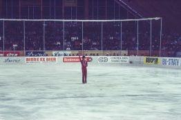 Norbert Schramm in Davos 1983