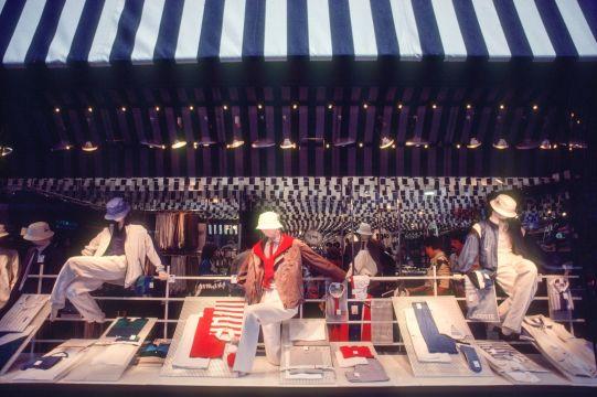 Schaufenster in Luzern 1983