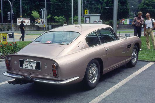 Aston Martin DB 6 in Luzern 1983