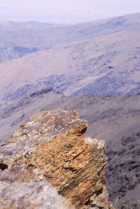 Pico del Veleta (3384 m) 1987