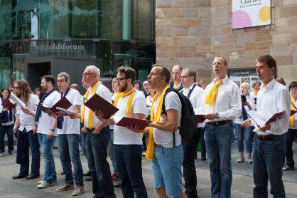 Dortmunder Bachchor Bustour durch Dortmund 2017