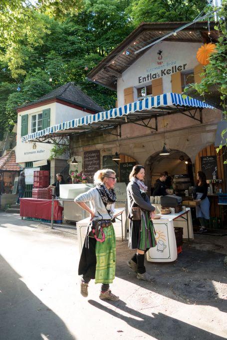 Bergkirchweih in Erlangen 2017