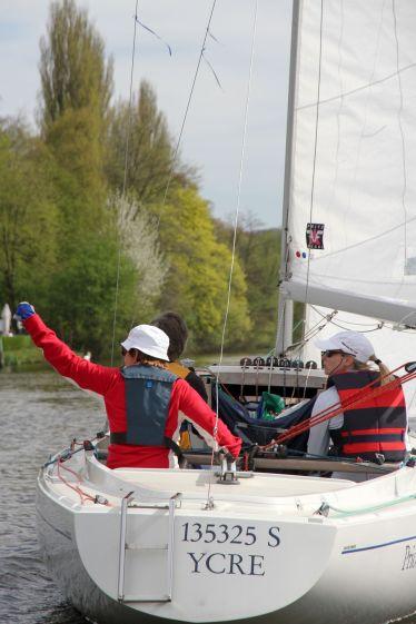 YCRE Frühjahrsregatta Baldeneysee Essen 2011