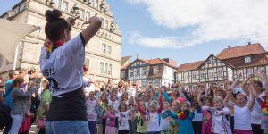 Kinder Flashmob in Hameln 2014