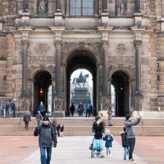 Zwinger in Dresden 2016