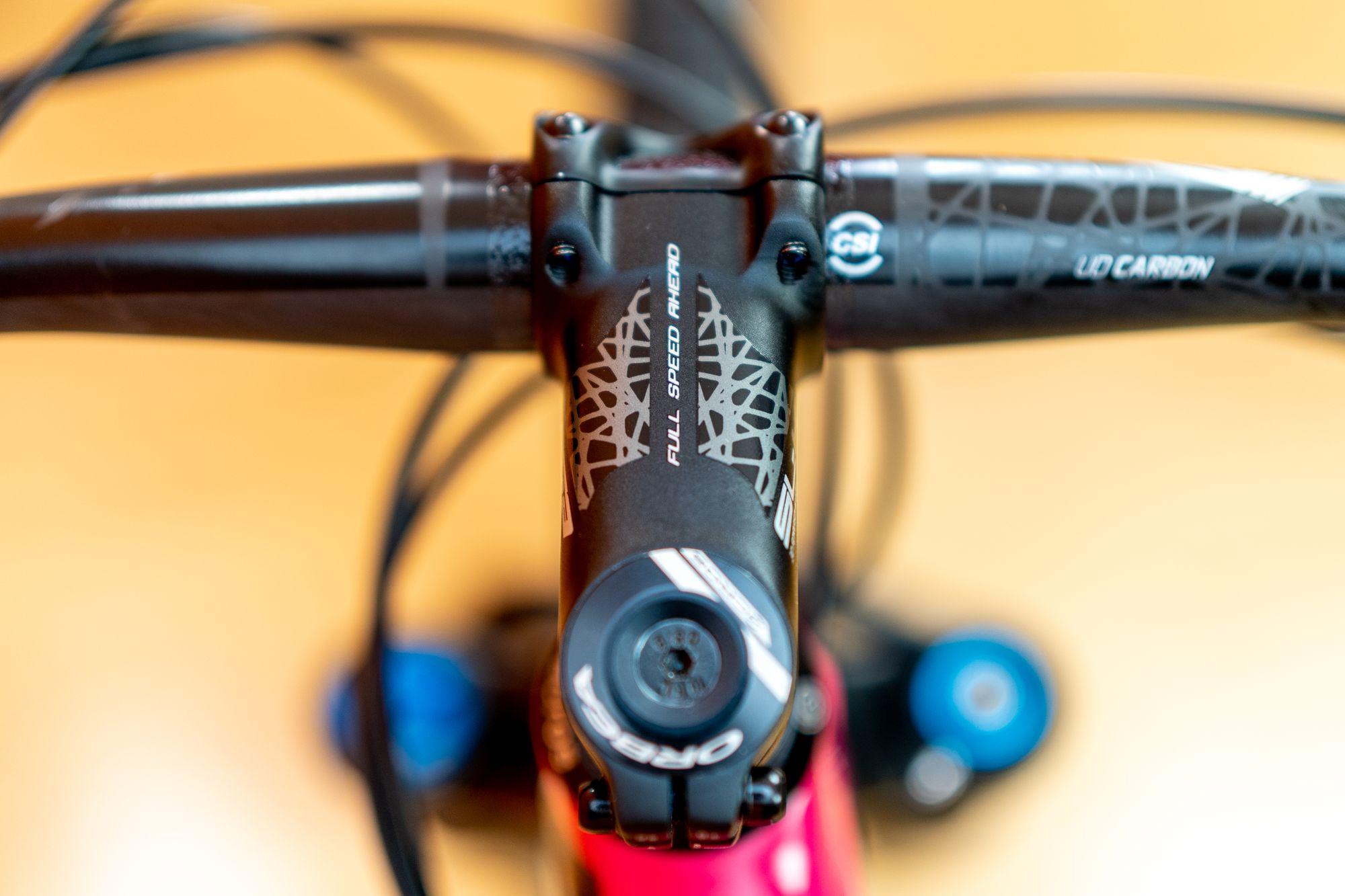 ORBEA MTB Fully Mountainbike in blau