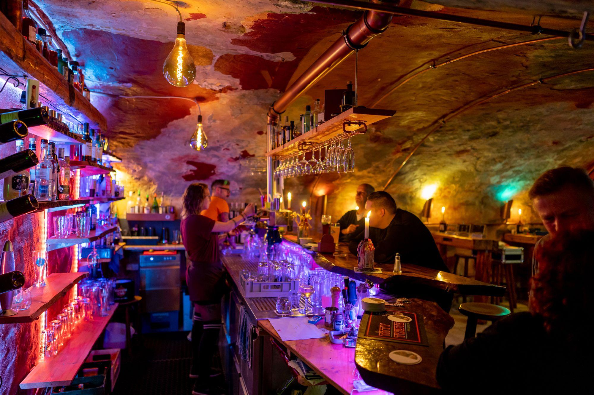 Bar des Soulhalm in Erlangen am 12. März 2020