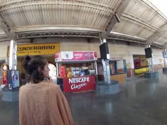 Fake train station