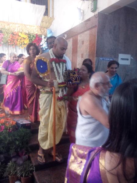 Shyam enters..