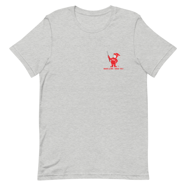 Light Gray Sven-Saw t-shirt front view