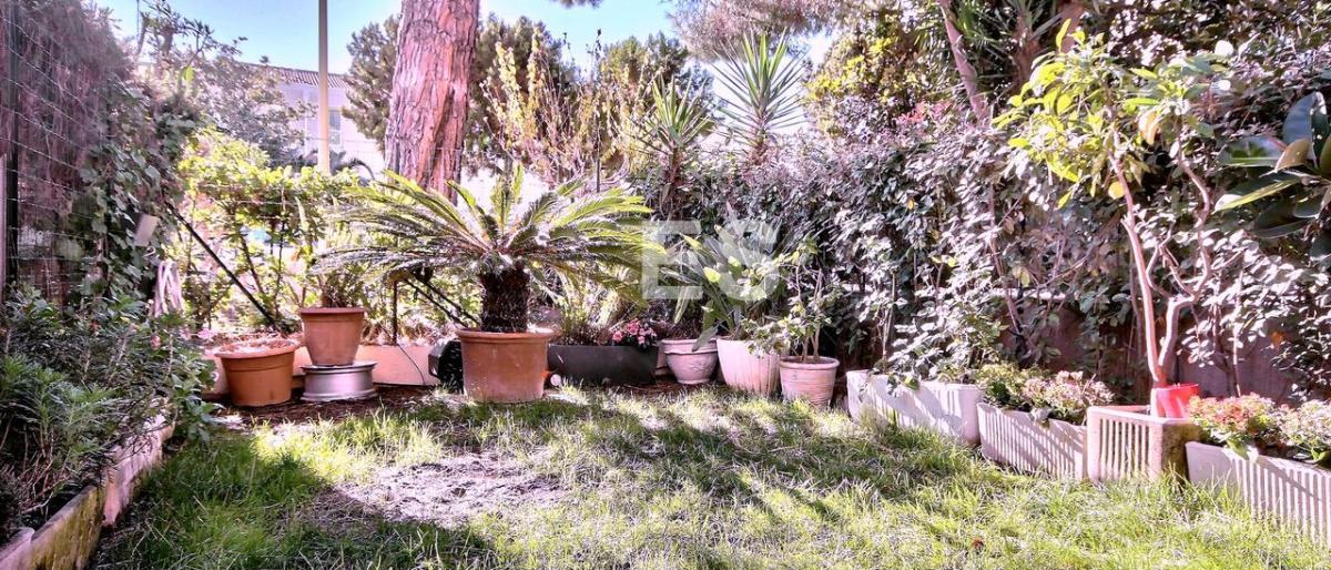 Köpa en lägenhet på franska rivieran i Cannes med trädgård och terrass