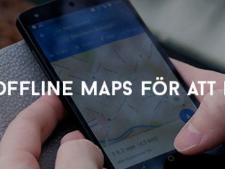 Använd Offline Maps för att hitta rätt