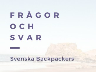 Frågor och Svar Backpackers