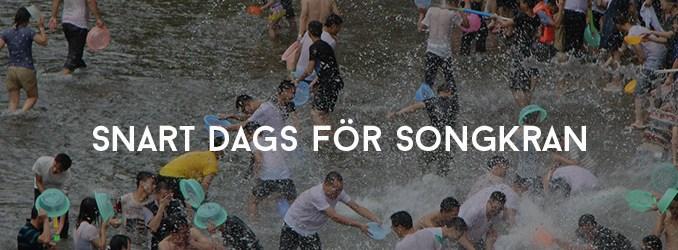 Snart dags för Songkran i Thailand