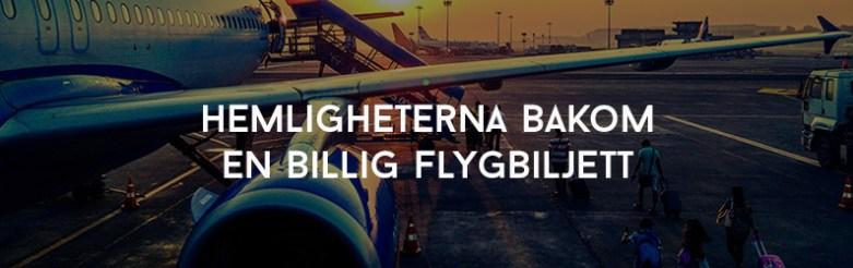 Billig flygbiljett