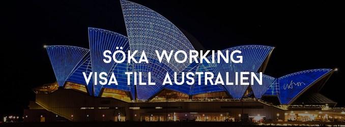 Söka Working Visa till Australien