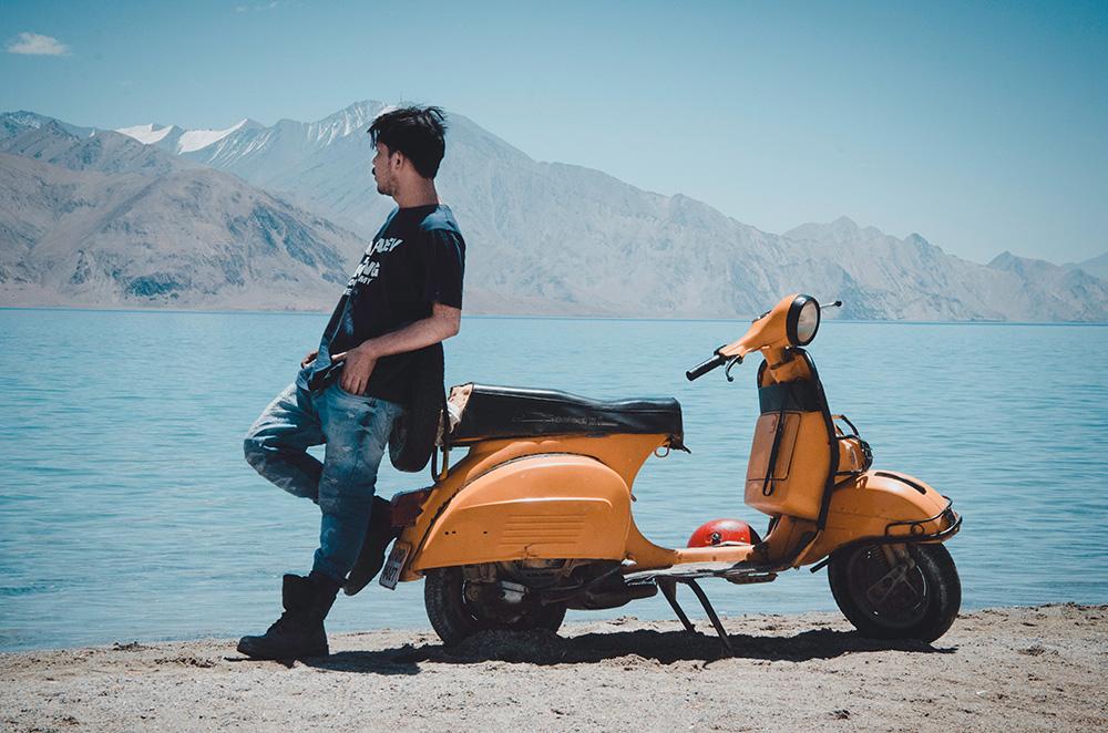 hyra moppe motorcykel i Thailand