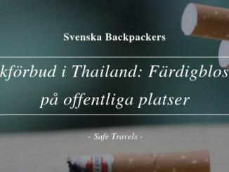 Rökförbud i Thailand: Färdigblossat på offentliga platser