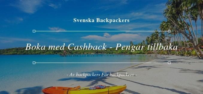 Boka med Cashback - Pengar tillbaka