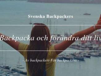 Backpacka och förändra ditt liv