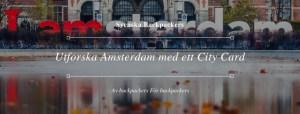 Utforska Amsterdam med ett City Card